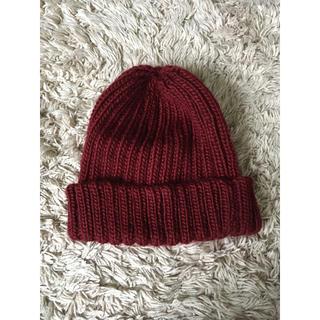 ローズバッド(ROSE BUD)のrosebud ウールニット帽(ニット帽/ビーニー)