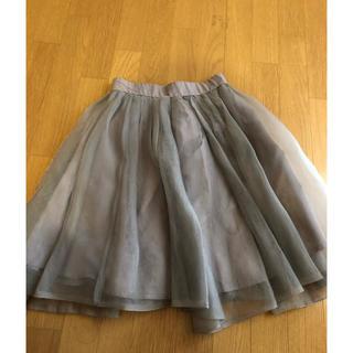 ココディール(COCO DEAL)のココディール チュールスカート (ひざ丈スカート)