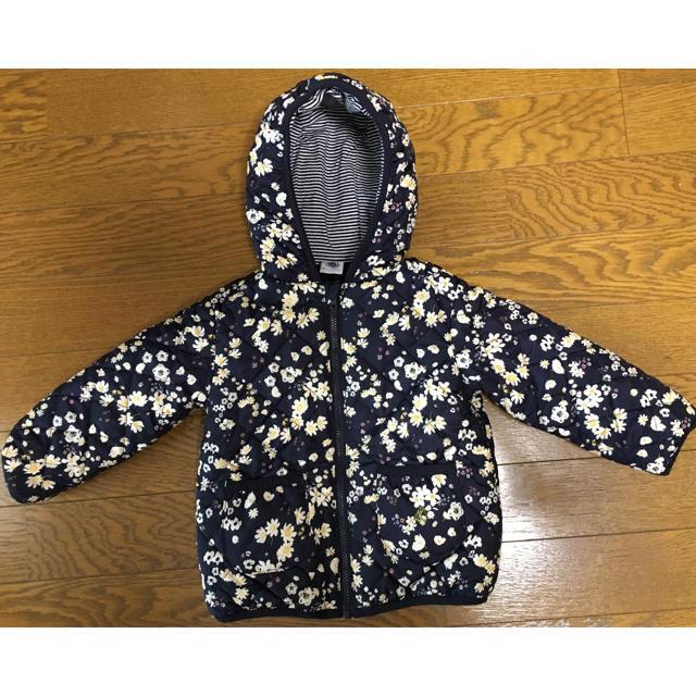 PETIT BATEAU(プチバトー)のプチバトーキルティングジャケット18ヵ月/81cm キッズ/ベビー/マタニティのベビー服(~85cm)(ジャケット/コート)の商品写真