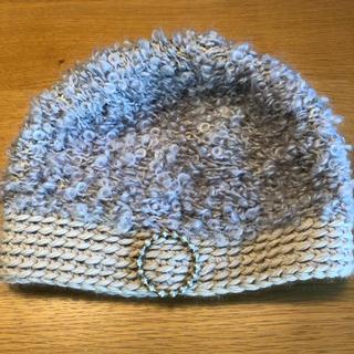 ミナペルホネン(mina perhonen)のミナペルホネン ×hitomi shinoyama ニット帽(ニット帽/ビーニー)
