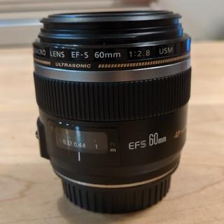 Canon - CANON 単焦点レンズEF-S60mm F2.8 マクロ USM