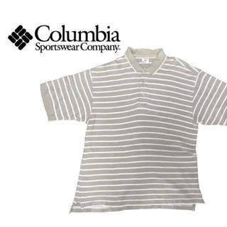 コロンビア(Columbia)のポロシャツ メンズ  コロンビア columbia ボーダー ビックシルエット(ポロシャツ)