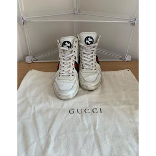 グッチ(Gucci)のグッチ ハイカットスニーカー 6  袋付き(スニーカー)