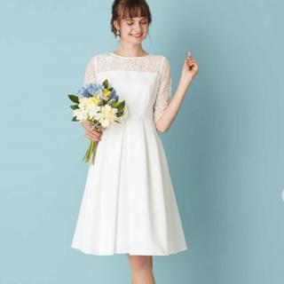 エメ(AIMER)の新品ウエディングドレス(フリーサイズ)(ウェディングドレス)