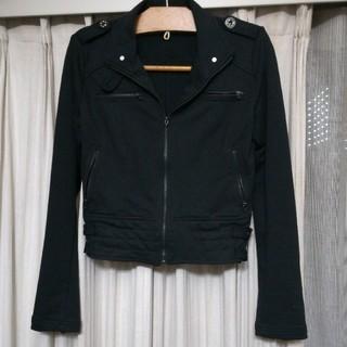 セシルマクビー(CECIL McBEE)の黒ライダースジャケット(ライダースジャケット)