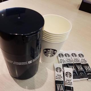 Starbucks Coffee - スタバ フラグメント ヴィア パイクプレイス ロースト&カップキャニスターセット