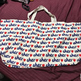 Cher - 美品 特大 Cher トート