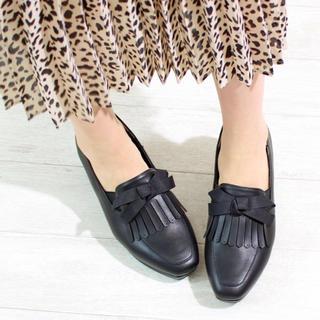 ナイスクラップ(NICE CLAUP)のNICE CLAUP ヒールローファー(ローファー/革靴)
