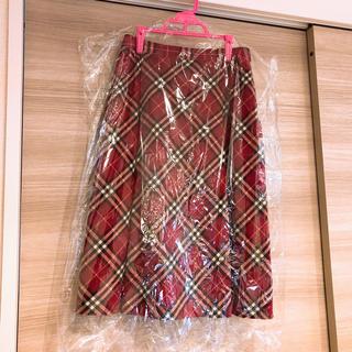 バーバリーブルーレーベル(BURBERRY BLUE LABEL)のバーバリー♡チェックスカート(ロングスカート)