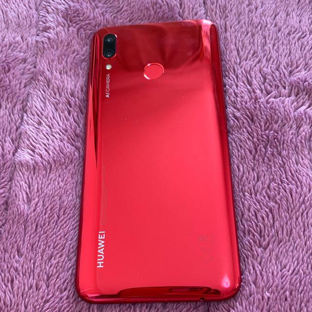 HUAWEI nova lite3 レッド スマホ/家電/カメラのスマートフォン/携帯電話(スマートフォン本体)の商品写真