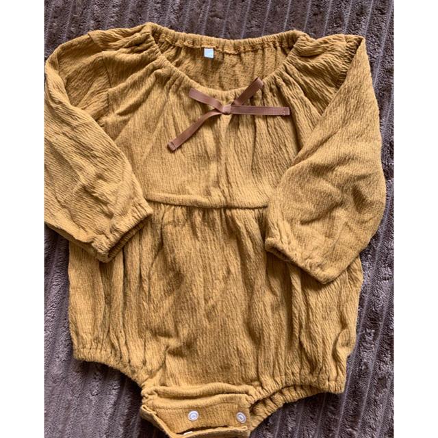ベビー  ロンパース 80 キッズ/ベビー/マタニティのベビー服(~85cm)(ロンパース)の商品写真