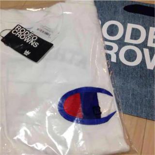 RODEO CROWNS - ロデオクラウンズ チャンピオン ロンT