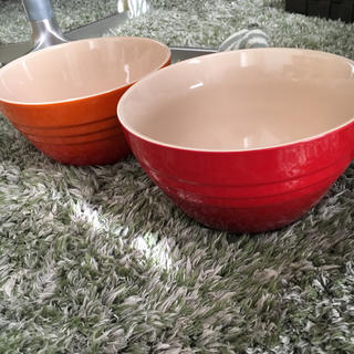 ルクルーゼ(LE CREUSET)のルクルーゼ ライスボウル 2個セット(食器)
