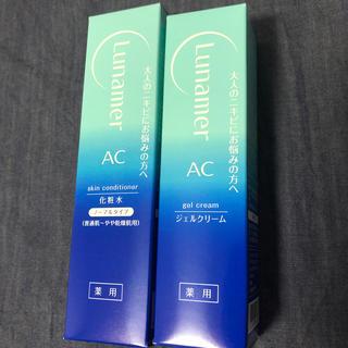 富士フイルム - 新品 ルナメアAC 化粧水+ジェルクリーム