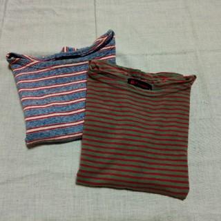 フォーティーファイブアールピーエム(45rpm)の45R  子供用Tシャツ 2枚組 日本製(Tシャツ/カットソー)