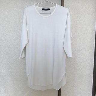 レイジブルー(RAGEBLUE)の5分袖ワッフルTシャツ(Tシャツ(長袖/七分))