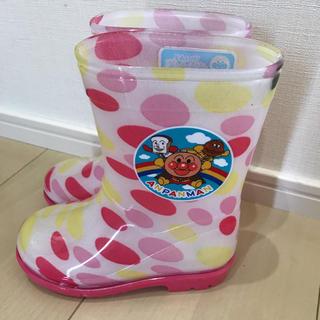 ムーンスター(MOONSTAR )の新品☆未使用 アンパンマン 15センチ(長靴/レインシューズ)