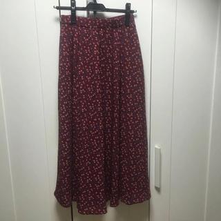 ココディール(COCO DEAL)のココディール 花柄ロングスカート(ロングスカート)