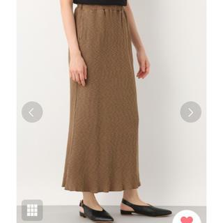 レプシィムローリーズファーム(LEPSIM LOWRYS FARM)の美品 レプシィム ロングニットスカート(ロングスカート)