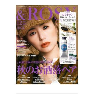 タカラジマシャ(宝島社)の&ROSY アンドロージー 12月号付録のみ(ヘアブラシ/クシ)