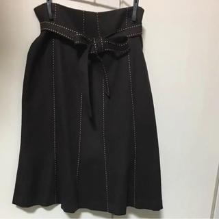 リボンスカート(ひざ丈スカート)