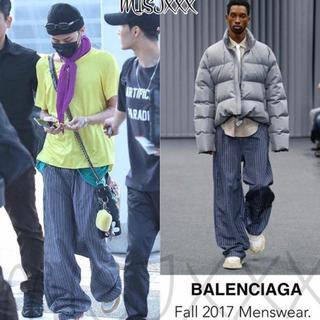 バレンシアガ(Balenciaga)のbalenciaga ストライプ ワイドパンツ (スラックス)