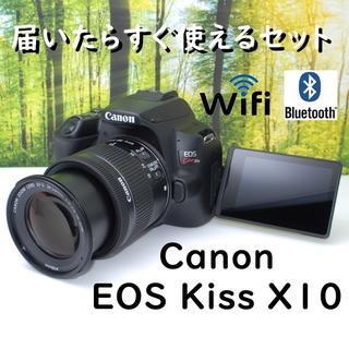 Canon - 【ほぼ未使用品】☆最新機種登場☆キヤノン EOS Kiss X10♪