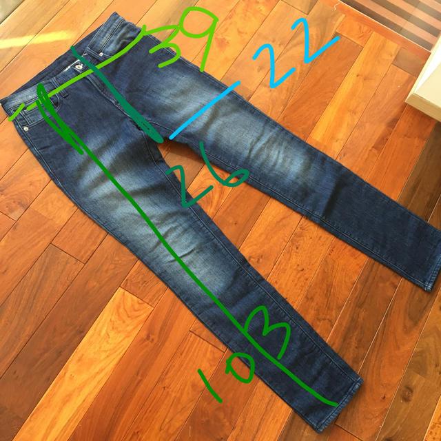 GU(ジーユー)のGU メンズデニムパンツ S メンズのパンツ(デニム/ジーンズ)の商品写真