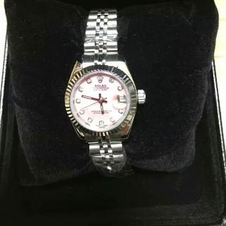 ROLEX - ロレックスの日誌型28 mmローマの字の機械の女子時計