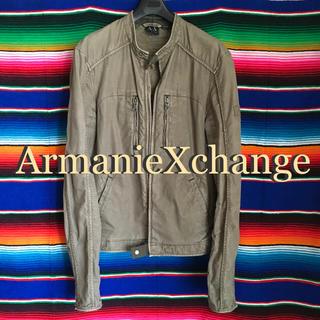 アルマーニエクスチェンジ(ARMANI EXCHANGE)のArmaniExchangeアルマーニエクスチェンジ海外限定ライダースジャケット(ライダースジャケット)