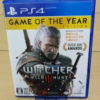PlayStation4 - PS4 ウィッチャー3 ワイルドハント ゲームオブザイヤーエディション