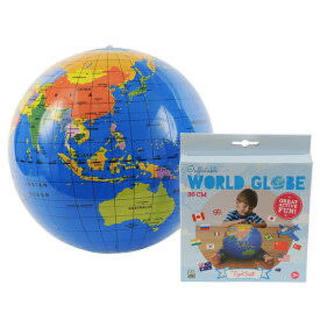 新品未使用未開封 地球儀 ビーチボール  30cm 地球