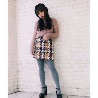 SLY - SLY チェック ツイードスカート
