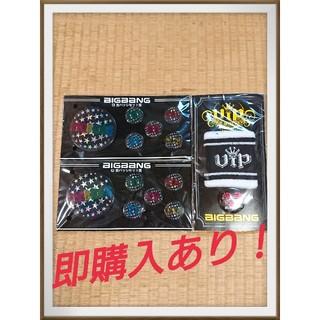 BIGBANG - 期間限定セール!(近日値下げ終了)BIGBANG バッジ&リストバンド