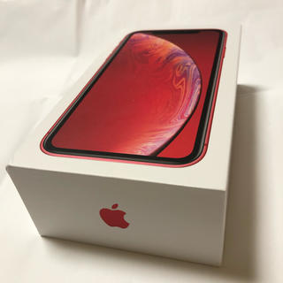 Apple - Apple iPhone XR red 128GB 新品未使用simロック解除済