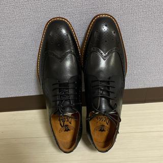 未使用品 ビジネスシューズ 紳士靴 メンズ 本革 ストレートチップ 25.5cm(ドレス/ビジネス)