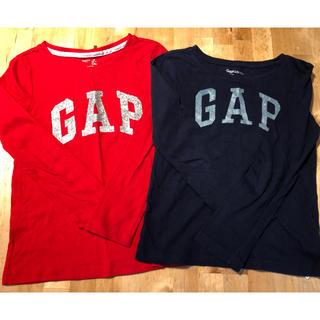 ギャップ(GAP)のロンT  2枚セット  by gap(Tシャツ/カットソー)