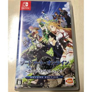 Nintendo Switch - ソードアート・オンライン - ホロウ・リアリゼーション - DELUXE ED…