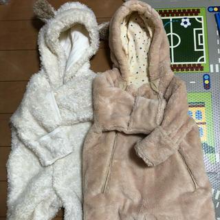 ベルメゾン(ベルメゾン)のベビー おくるみ 毛布 冬物(カバーオール)