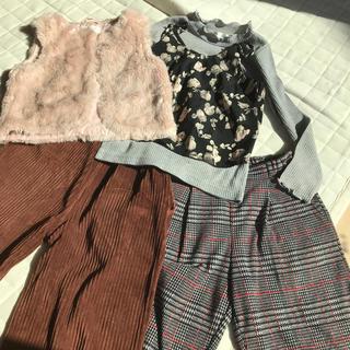 エムピーエス(MPS)のMPS H&M  パンツ トップス 女の子秋服 冬服5点セット(パンツ/スパッツ)