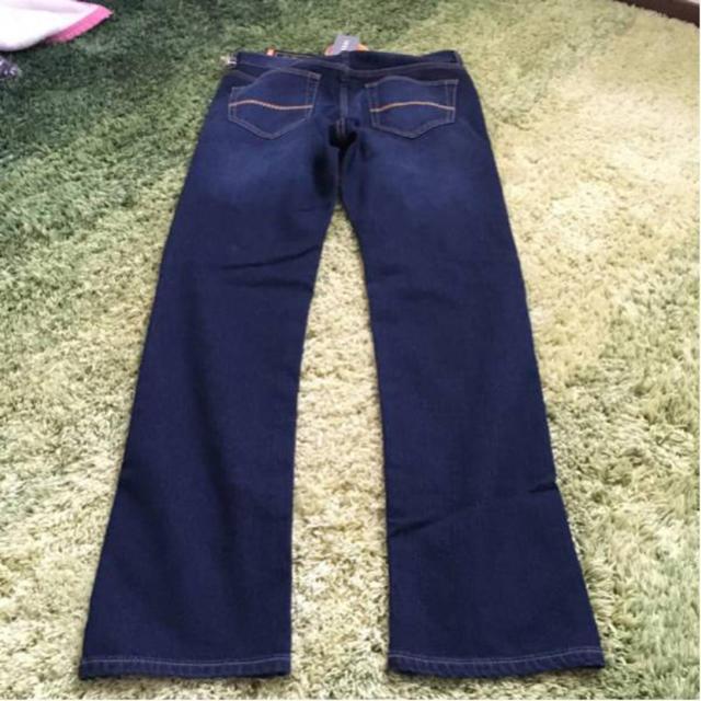 しまむら(シマムラ)の裏起毛デニム ウエスト76 メンズのパンツ(デニム/ジーンズ)の商品写真