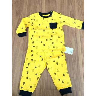 ベルメゾン(ベルメゾン)の新品 ベビーパジャマ 80サイズ(パジャマ)