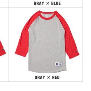 チャンピオン(Champion)の新品 2XL USAサイズ Champion 七分袖 ロンティ(Tシャツ/カットソー(七分/長袖))