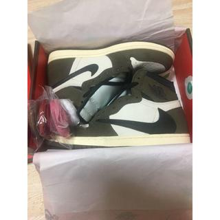 ナイキ(NIKE)のAIRJORDAN1 TRAVIS SCOTT STOCKX (スニーカー)