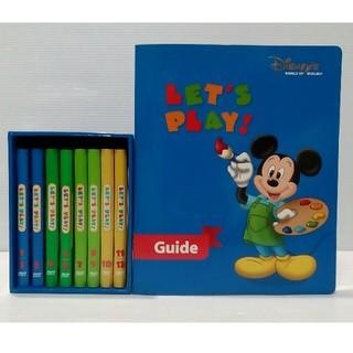 Disney - 美品 DWEディズニーえいご レッツプレイ DVD 全8巻