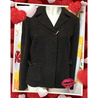 ミラショーン(mila schon)の【ミラショーンの素敵なジャケットXLL/3L♡美品】(テーラードジャケット)