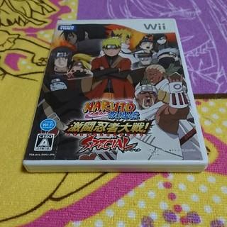ウィー(Wii)のNARUTO-ナルトー疾風伝 激闘忍者対戦!SPECIAL(家庭用ゲームソフト)