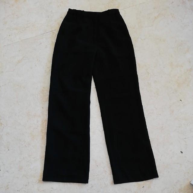 美品ブラックフォーマル3点セットアップスーツ、サイズ11号。 レディースのフォーマル/ドレス(スーツ)の商品写真
