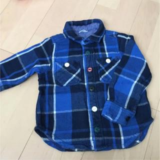 BREEZE - 厚手 ブリーズ チェックシャツ