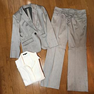 ニジュウサンク(23区)の23区 ♡ ライトグレー スーツセット(スーツ)